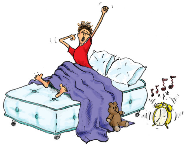 Spanish To Get Out Of Bed Verb