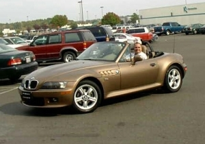 Isabelle, the HH's BMW Z3