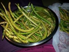 Shelling Crowder Peas