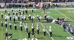 Vanderbilt band playing 11.30.13